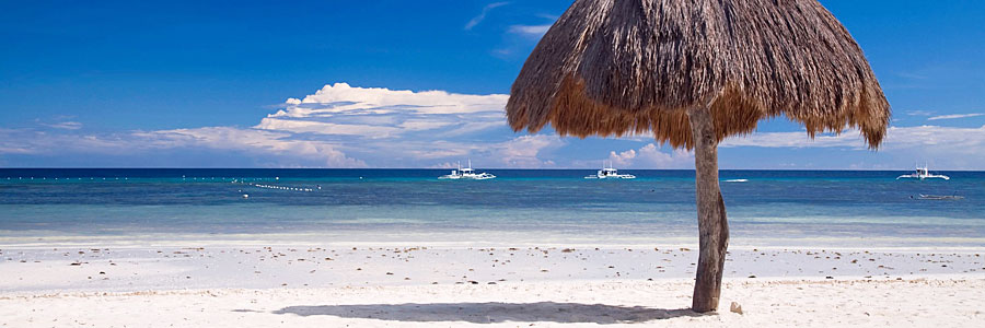 Bohol Beach - White sand beaches of Panglao Island