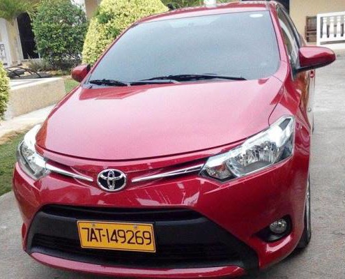Toyota Vios Car Rental in Bohol