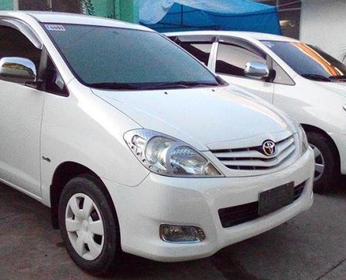White Car Rental in Bohol
